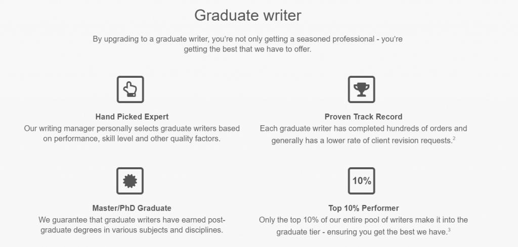 Ultius Graduate writer