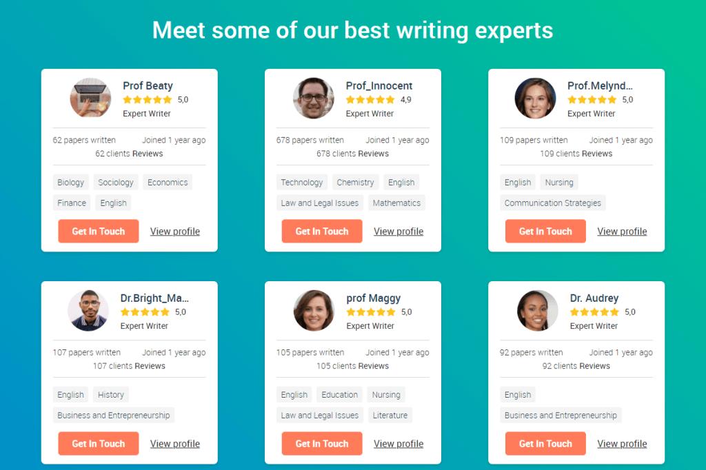 Edusson Writers