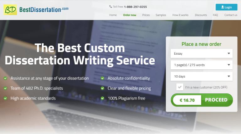 BestDissertation Mainpage
