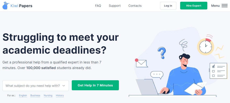 KiwiPapers mainpage